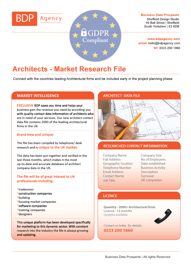 Architects Database