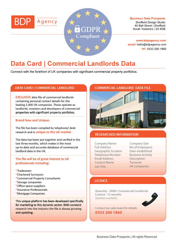 Commercial Landlords Database