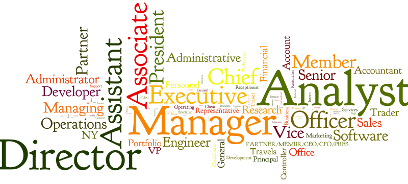 Job Titles in the Workplace