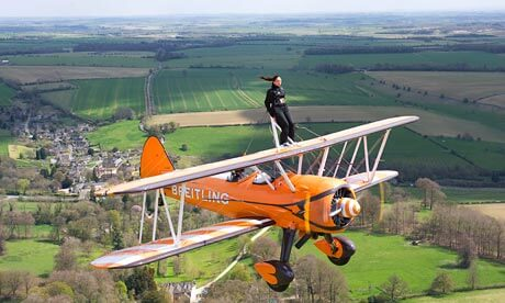 BDP Supports Allie Langham's Wing Walk