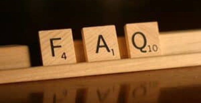 Data FAQ   Frequently Asked Questions